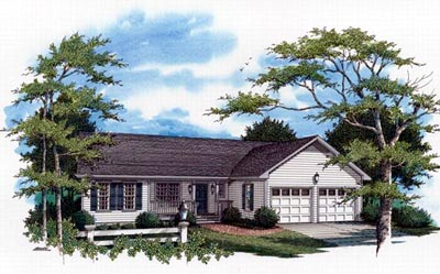 Country Style House Plans Plan: 22-129