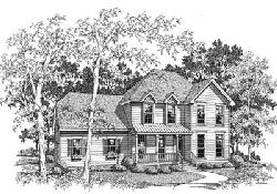 Country Style House Plans Plan: 22-132