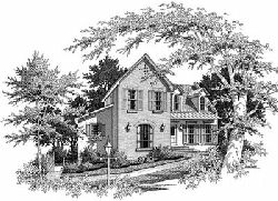 Country Style Floor Plans Plan: 22-138