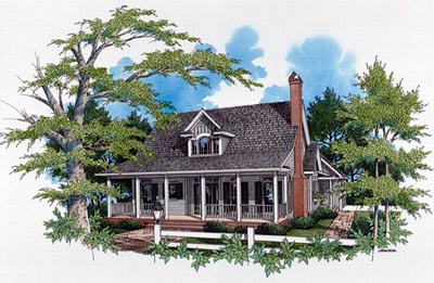 Country Style Home Design Plan: 22-139