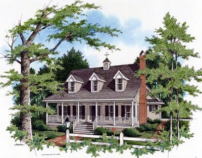 Country Style House Plans Plan: 22-140