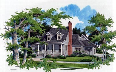 Country Style House Plans Plan: 22-141