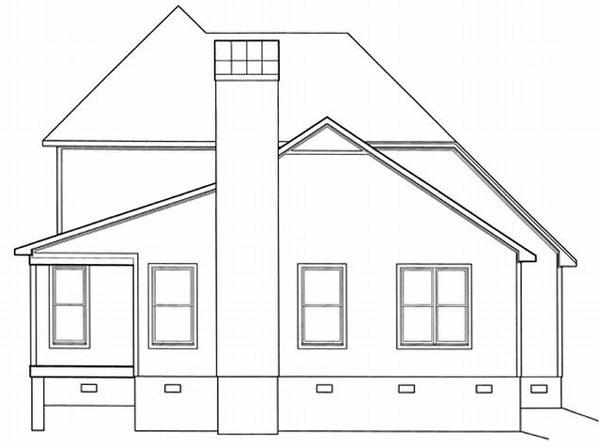 Rear Elevations Plan:22-142