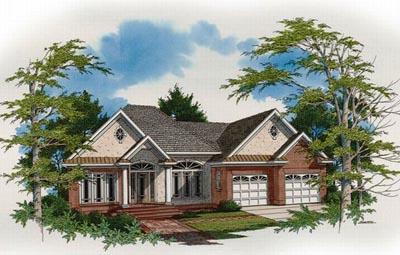 European Style Home Design 22-145