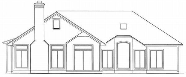 Rear Elevations Plan:22-145