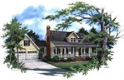 Country Style Home Design Plan: 22-150