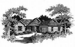Traditional Style Home Design Plan: 22-152