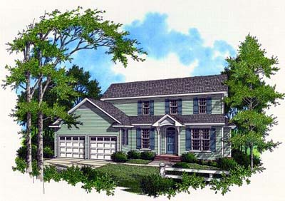 Traditional Style Home Design 22-153