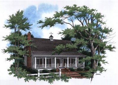 Country Style House Plans Plan: 22-154