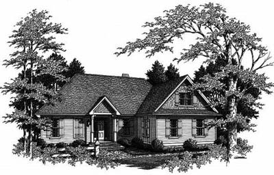 Traditional Style Floor Plans 22-156