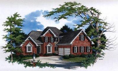European Style House Plans Plan: 22-158