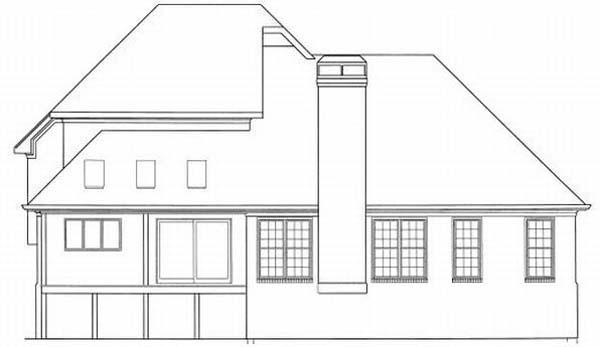 Rear Elevations Plan:22-158