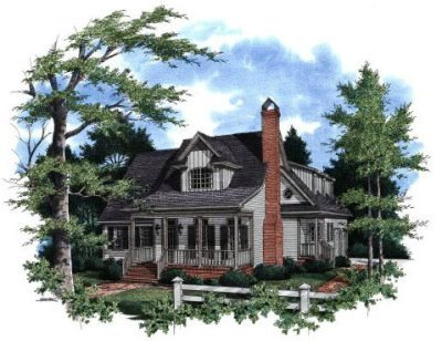 Country Style House Plans Plan: 22-159