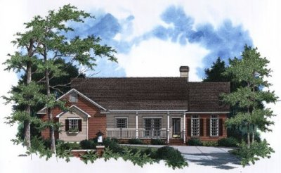 Country Style Floor Plans Plan: 22-164