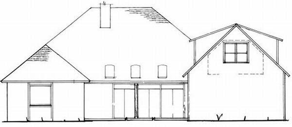 Rear Elevations Plan:22-166