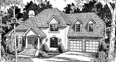 Traditional Style Home Design Plan: 22-168