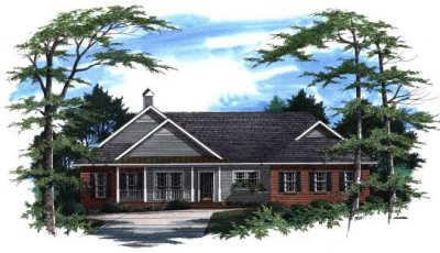 Country Style House Plans Plan: 22-171