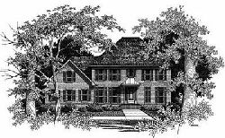 Colonial Style House Plans Plan: 22-173