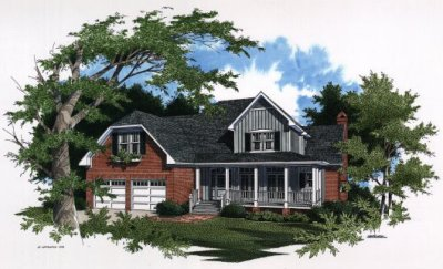 Country Style House Plans Plan: 22-174