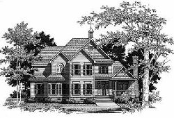 Country Style House Plans Plan: 22-175