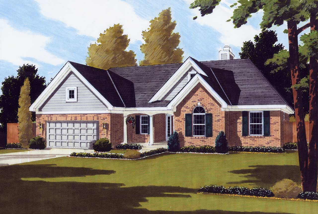 Traditional Style Home Design 23-113