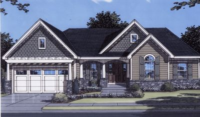 Traditional Style Floor Plans 23-115