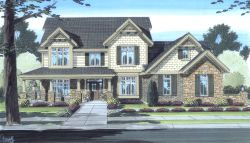 Country Style House Plans 23-117