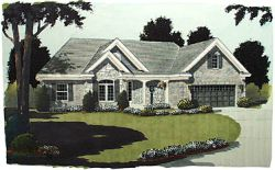 Traditional Style Floor Plans 23-123
