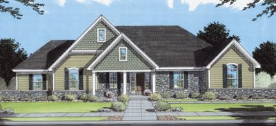 Traditional Style Home Design 23-135