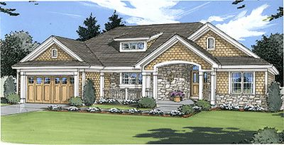 Traditional Style Floor Plans 23-139
