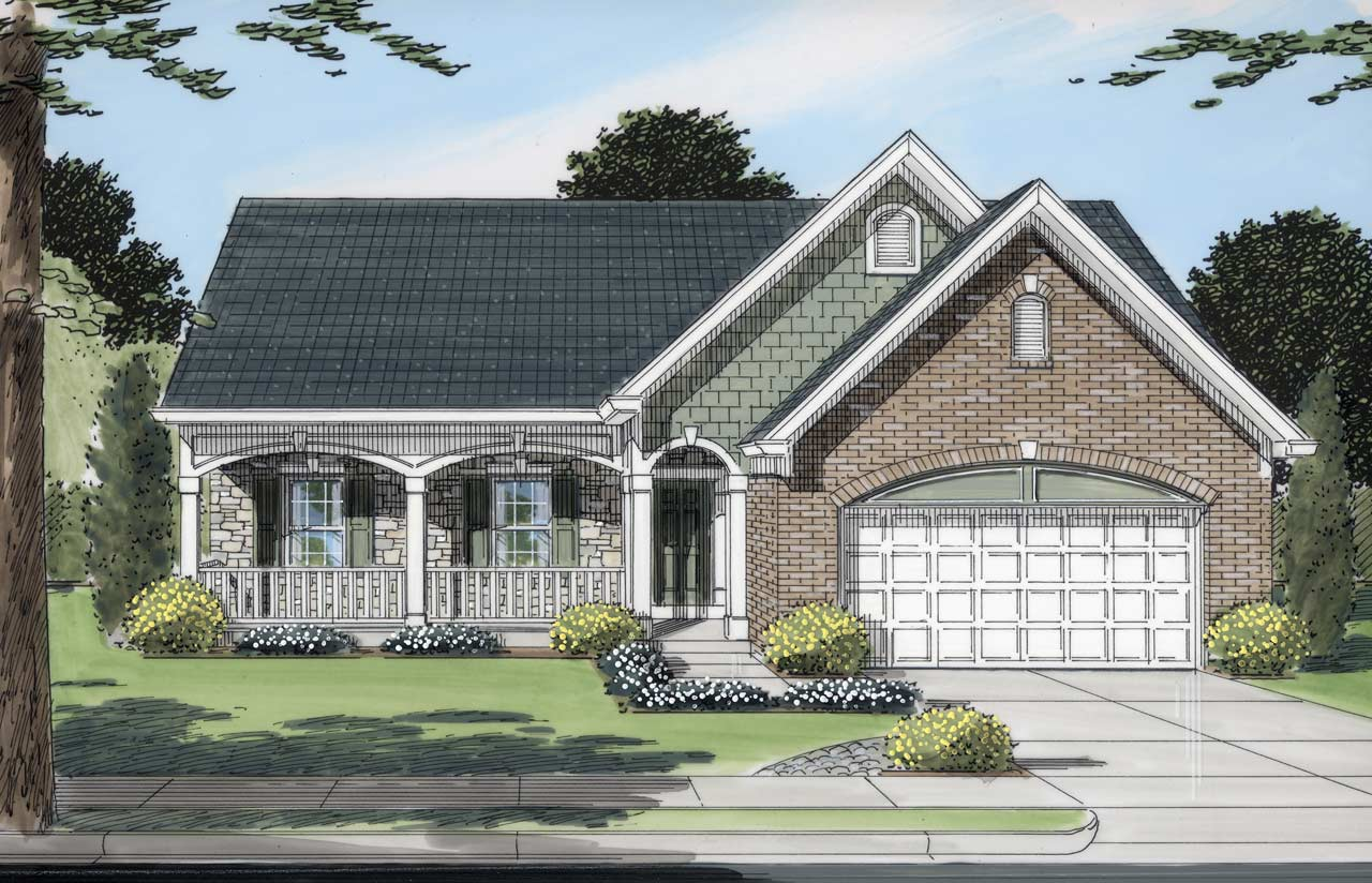 Traditional Style Home Design 23-143