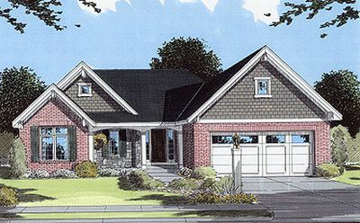 Traditional Style House Plans 23-147
