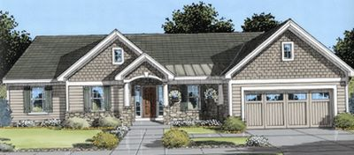 Traditional Style House Plans 23-175