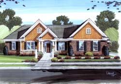 Traditional Style House Plans 23-213