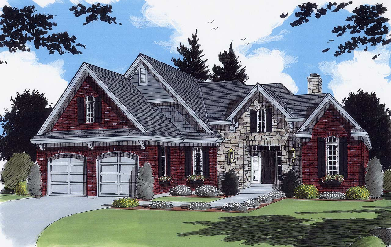 Southern Style House Plans 23-227