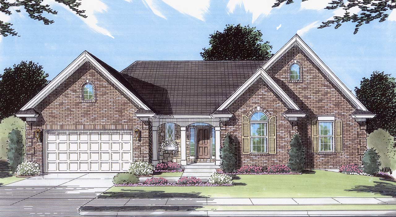 Traditional Style Floor Plans 23-228