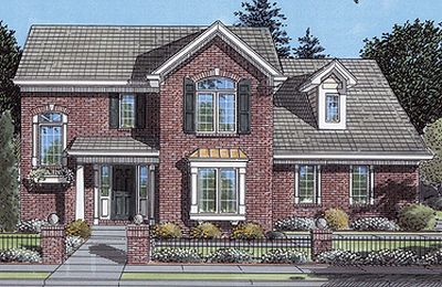 Traditional Style Home Design 23-230