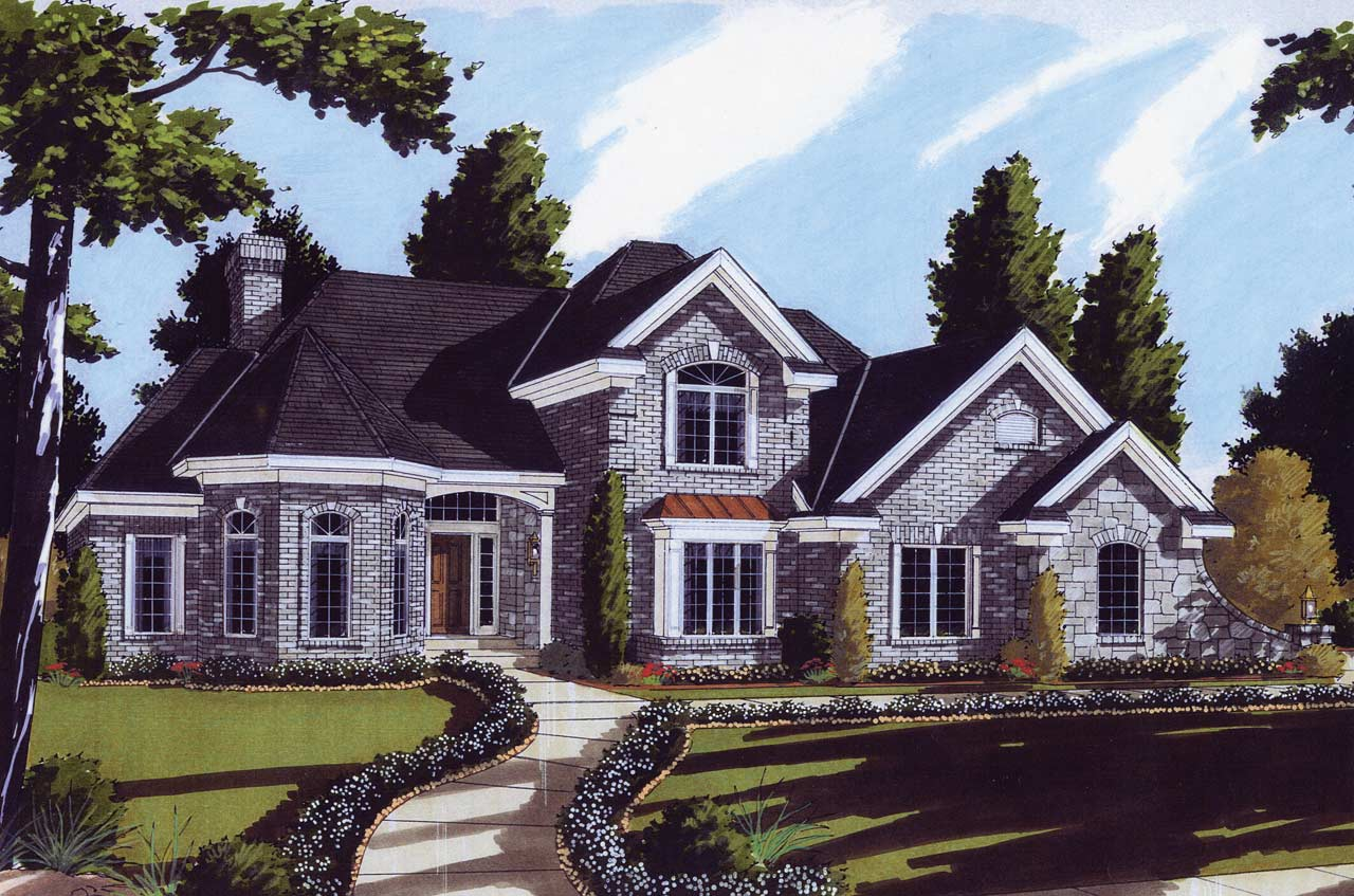 Traditional Style Floor Plans 23-274