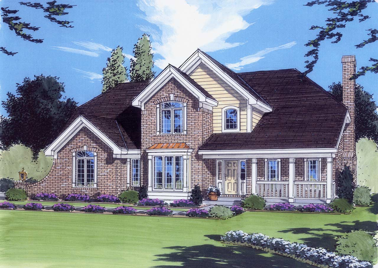 Country Style Floor Plans 23-302