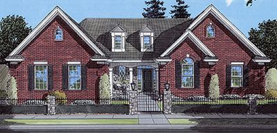 Traditional Style Home Design 23-335