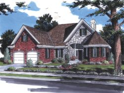 Traditional Style House Plans Plan: 23-341