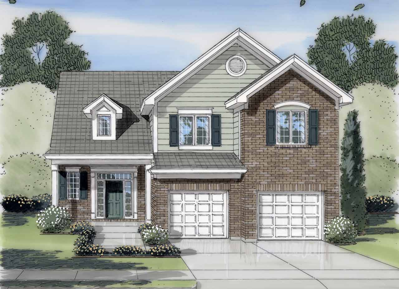 Traditional Style Floor Plans 23-415