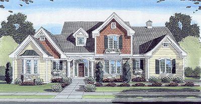 Cottage Style Floor Plans 23-419