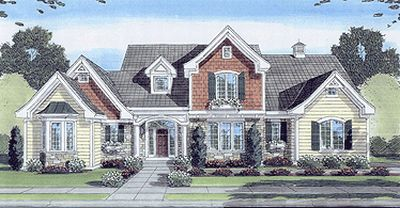 Traditional Style Home Design 23-420