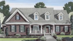 Southern Style Floor Plans Plan: 23-424