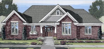 Traditional Style House Plans 23-438