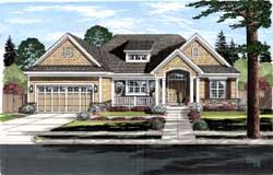Craftsman Style House Plans Plan: 23-464