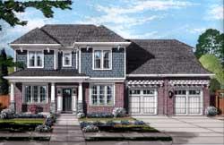 Craftsman Style House Plans Plan: 23-465