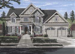 Southern Style House Plans Plan: 23-499