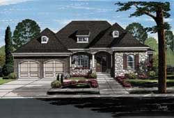 Bungalow Style Floor Plans Plan: 23-503